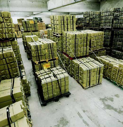 Weapons Storage Center