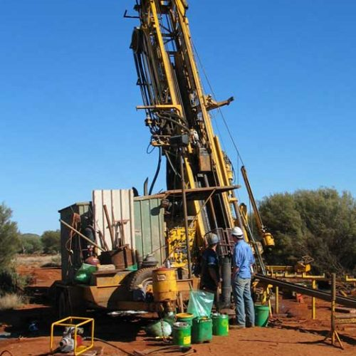Drilling of Portable Water Well at FOB Shkin
